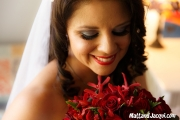 Loved my make-up and flowers!