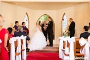 Matt giving Jacqui his vows <3