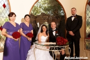 Photo together with bridal party =)