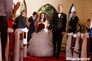 Walking out as husband and wife!
